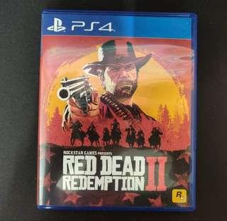 SEWA CD : PS4 Red Dead Redemption 2