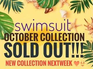 Swimsuit Sold Out! Thank you mermaids see you nextweek :)