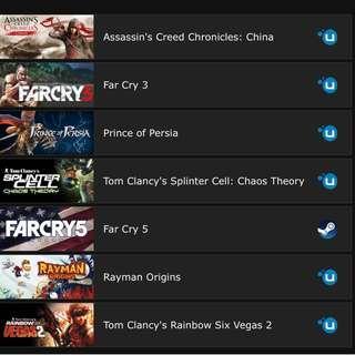 Razer Games Bundle - 6 of them!