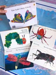 NEW~Eric Carle's Story Library 4 Mini board book set
