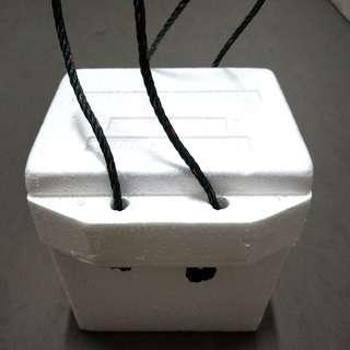 Small Styrofoam Box with Handles