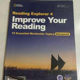 🚚 Reading explorer 4 improve your reading 菁英外語用書
