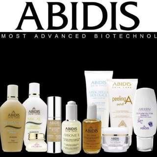 全線ABIDIS 西班牙尊貴護膚品牌 正貨發售 歡迎❤inbox 或Whatsapp 查詢貨量及價錢。