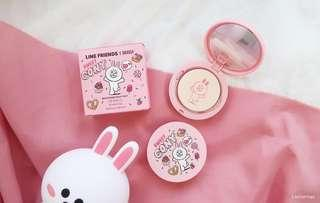 PO Line Friends x Mille Beaute Brightening Milky Pact foundation
