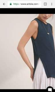 NEW Wilfred Palmier Sleeveless Sweater