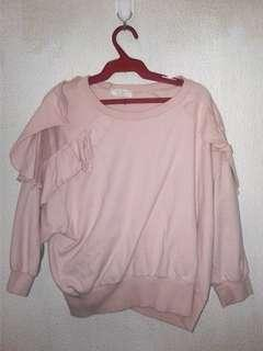 Blush pink pullover