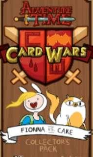 Adventure Time Card Wars Fionna and Cake Set