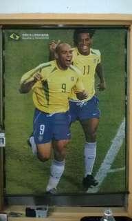 Ronaldo & Ronaldinho Poster