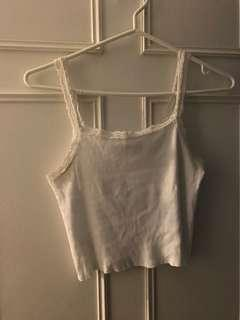 Brandy Melville lace tank top