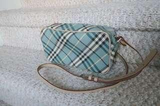 New Authentic Burberry Blue Label sling leather bag