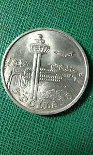 Koin singapore 5dolar