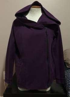 Nike Tech Fleece Women's Cape Hoodie Size Small Purple Style 684928-563