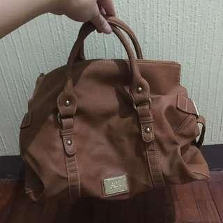 Anne Klein Handbag and Sling bag brown leather class a