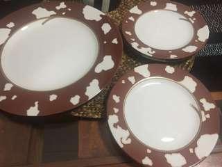 Salad Plates Set- 5pcs