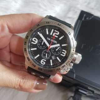 Pre-Order: Authentic TW Steel Men's Canteen 45mm Chronograph Watch TW78