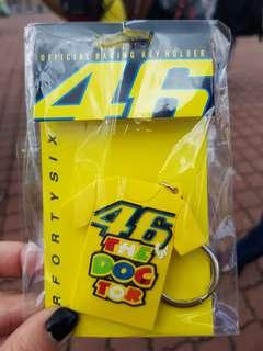 #MakeSpaceForLove Valentino Rossi Key Chain VR46 MotoGP