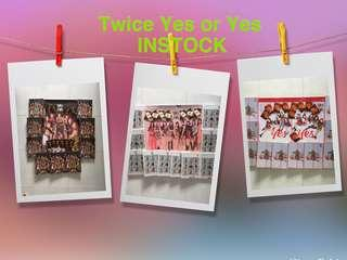 [INSTOCK] TWICE 6th MINI ALBUM YES OR YES