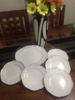 UNGARO Paris Plates Set-6pcs