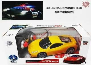 """10.5"""" RC Road Runner Car with Lites"""