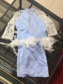 Mishelhana Baju Kurung Baby Baby Blue