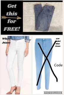 Pants! Buy 1 get 1 FREE!