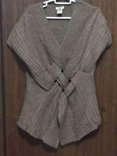 Knitted Choco Brown Top