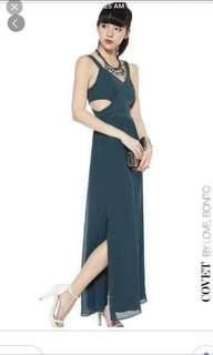 Love Bonito maxi dress in forest