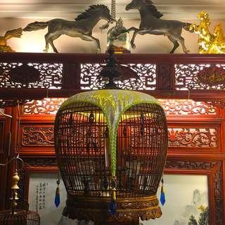 Antique Merbok Cage