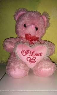 Boneka Teddy bear pink