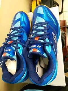 YY波鞋 Indoor Shoes (SHB55EX) Power Cushion 55 UK8 Blue 適合:羽毛球Badminton,壁球Square, 乒乓球Table-tennis…