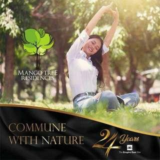 Invest now! With no down payment at mangotree residences with 5% Early Christmas Promo Discount! Avail Now!