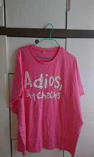 粉紅色女裝上衣(25包平郵)