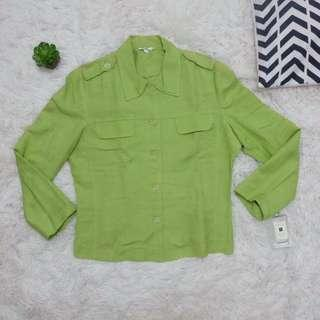 Green long sleeves