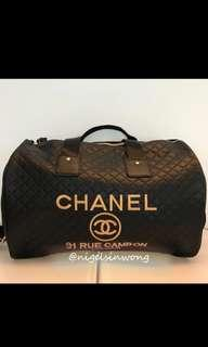 🌹Chanel travel bag vip gift big size for handcarry旅行袋 行李袋