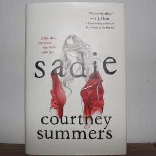 [English Book] Sadie - Hardcover by Courtney Summers