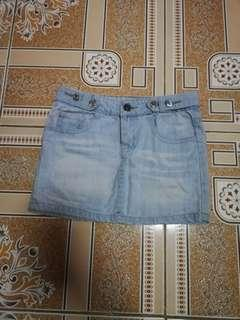Denim Skirt XS