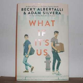 [English Book] What If It's Us - Hardcover by Becky Albertalli  & Adam Silvera