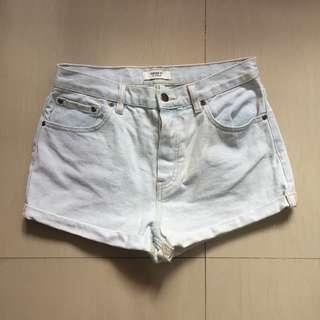 Acid Washed Shorts