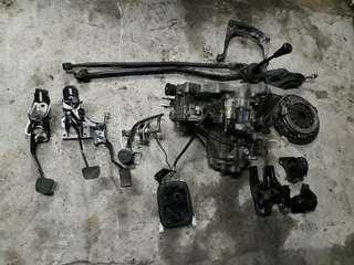 Honda ek3 eg3 Gearbox manual set convertion