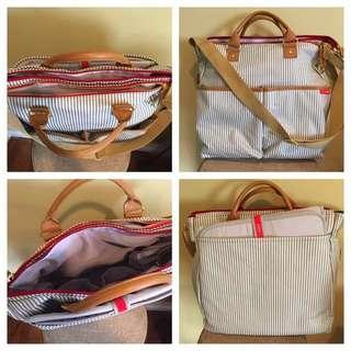 Skip hop Limited Edition Stripe Diaper Bag