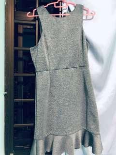 Lovebonito Grey neoprene dress