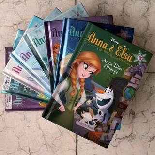 Almost complete Anna & Elsa: Sisterhood is the Strongest Magic book series