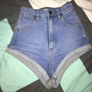 Cheeky Pin Up Wrangler Shorts