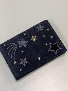 Kate Spade card holder starry night
