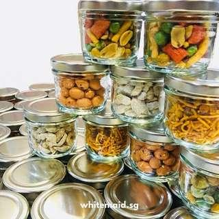 Assorted Nuts In Widemouth Mini Jar