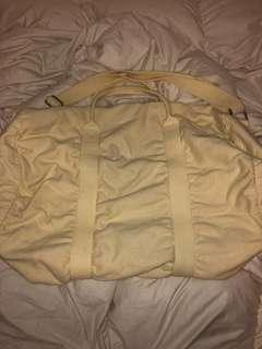 BNWT Brandy Melville Baby Yellow Duffel Bag
