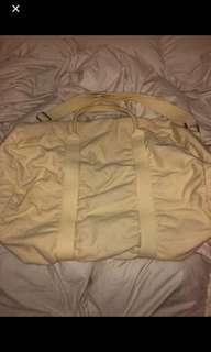 BNWT Brandy Melville Yellow Duffel Bag