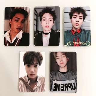 EXO Dont Mess Up My Tempo Photocards/PCs