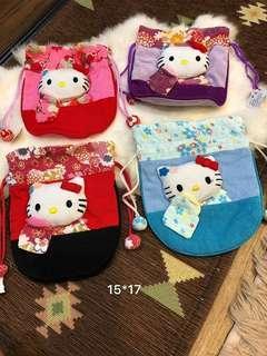 【日本】KT貓束口袋