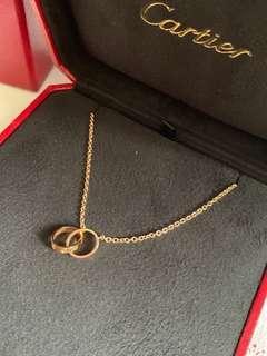 Cartier Love necklace 卡地亞頸鏈